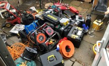 Arrests made following recovery of power tools – Milton Keynes