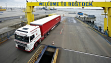 Scandlines transporterer stadigt flere lastbiler