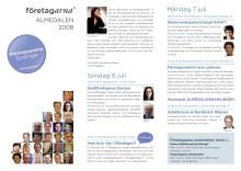 Företagarnas program under Almedalsveckan 2008.