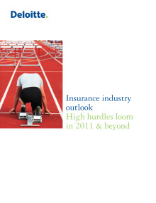 Insurance Industry Outlook 2011
