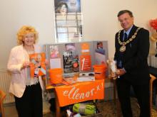 Mayor of Tunbridge Wells raises £26,000 for ellenor