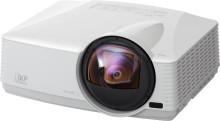 Nu erbjuder Mitsubishi Electric två projektormodeller med ultra short throw lins för en riktigt nära projicering - WD380U-EST och XD360U-EST