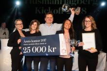 HusmanHagberg firar framgångar och fortsätter resan mot nya, högre mål.