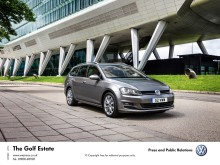 New Volkswagen Golf Estate: loads better, not loads more cash