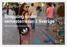 Utländska turister vill shoppa svenskt. Kortversion av en rapport om utländska shoppingesenärer i Sverige.