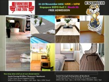 Evorich Promotes Eco-Products at Singapore Furniture and Furnishing Fair 2015