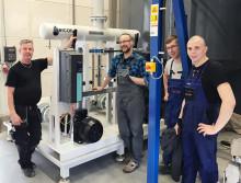 Stabila, säkra, miljövänliga processer på Fiskars i Polen