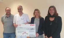 E.ON-Mitarbeiter unterstützen ELISA - Verein zur Familiennachsorge e.V. in Neuburg an der Donau