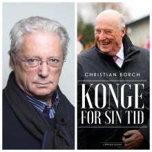 Christian Borch aktuell med bok om Kong Harald 5. og monarkiets utvikling