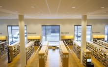 Biblioteket börjar med hemkörning