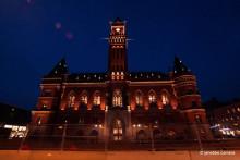 Pressinbjudan: Invigning av Rådhusets nya fasadbelysning