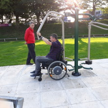 New inclusive facilities launched at Bury athletics track