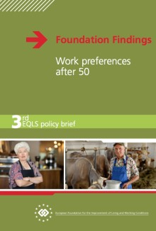 Work preferences after 50