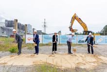 Klärschlämmen wird's bald heiß - Bau der Klärschlammtrocknungsanlage Oberlausitz in Boxberg O.L. gestartet / Nachhaltiges Projekt für die Lausitz