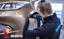 Snart öppnar Besikta Bilprovning på Väla