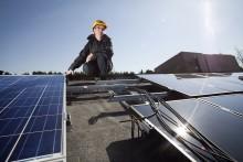 Instrålningsrekord för solceller under september
