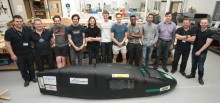 Northumbria green engineers build car of the future