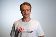 Peter Moberger ny ordförande för Läkare Utan Gränser