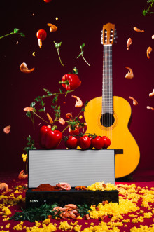 "Leading Professor finds that ""sonically seasoning"" food with music from its country of origin can improve taste"