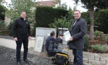 Erste intelligente Zähler in Oberfranken installiert