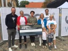København gik 950.000 kr. ind i den gode sags tjeneste