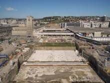 Bahn feiert mit Projektpartnern Grundsteinlegung für zukünftigen Stuttgarter Hauptbahnhof