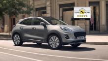 Nya Ford Puma blir en av åtta Ford-modeller med fem stjärnor i Euro NCAP