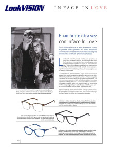 In Face In Love in LOOK Vison mars 2017