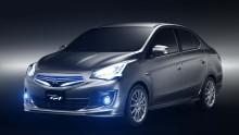 Mitsubishi presenterar ny konceptbil i Shanghai