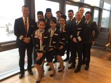 Norwegians første flygning mellom Oslo og Las Vegas er i lufta