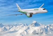 Widerøe AS blir blir først i verden på vingene med Embraer E-Jet E2