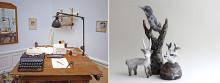 Fiktiva konstnärskap, människa, djur, natur – nya utställningar på Härnösands Konsthall