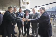 Richtfest beim Amprion-Neubau im Technologiepark Phoenix-West