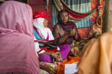 Dags för en feministisk lins på det humanitära arbetet