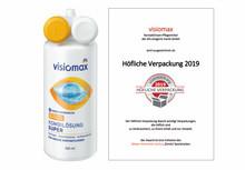 """visiomax Kombilösung Super von dm-drogerie markt ausgezeichnet mit dem Award """"Höfliche Verpackung"""""""