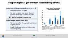 Presentation EU-kommissionen: möte med medlemsländernas expertgrupp för hållbar finansiering