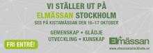 Pax deltar på Elmässan i Stockholm 16–17 oktober