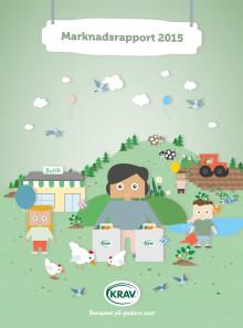 KRAVs marknadsrapport 2015