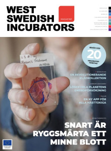 West Swedish Incubators Magazine - läs om innovationer och entreprenörer i Västra Götalandsregionen