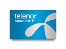Nytt kontantkort med fri surf hos Telenor