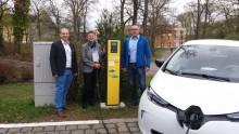 Vier neue E-Ladeplätze in Teublitz