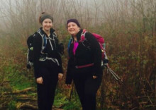 ​Mother and daughter in training for ellenor Iceland trek