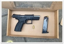 Teenager arrested after loaded firearm recovered in south London