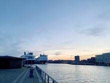 Nu får DFDS-færgerne i København landstrøm