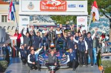 Vorjahressieg wiederholt: Sébastien Ogier/Julien Ingrassia gewinnen im Ford Fiesta WRC die Rallye Monte Carlo