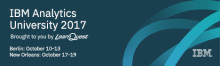 IBM Analytics University 2017 - Fast track your insights