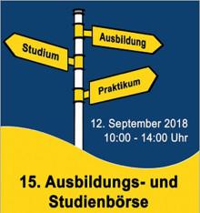 TH Wildau informiert zur 15. Ausbildungs- und Stellenbörse in Lübbenau am 12. September 2018 über aktuelle Studienangebote