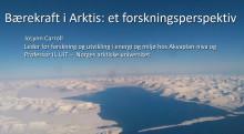 """Akvaplan-niva bidrar til lansering av UN Global Compact initiativ """"Bærekraftig business i Arktis"""""""