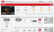 DEFA Home har uppgraderat web-interfacet för styrning av fritidshuset