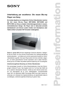Medienmitteilung_CES 2015_Blu-ray Player_D-CH_150106